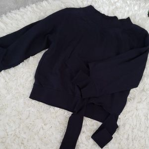 Tops - Oversized fit unique cutting SWEATSHIRT